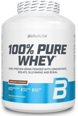 BioTech (USA) 100% Pure Whey Lactose Free (2270 г)