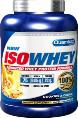 Quamtrax Iso Whey 2.2 кг