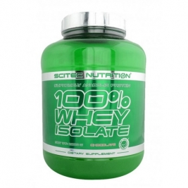 Протеин Scitec Nutrition 100% WHEY ISOLATE 2000g