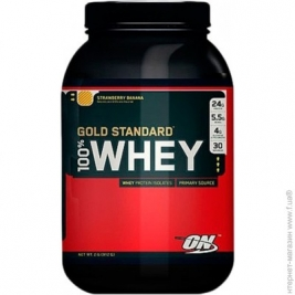 Optimum Nutrition 100% Whey Gold Standard 909г